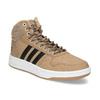 Zimní pánské kotníčkové tenisky adidas, hnědá, 801-8104 - 13