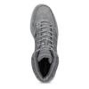 Pánské kotníčkové tenisky kožené šedé adidas, šedá, 803-2118 - 17