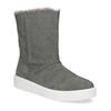 Dámská zimní kožená obuv šedá bata, šedá, 593-2613 - 13