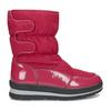 Červené dámské sněhule s černou podešví bata, červená, 599-5625 - 19