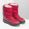 Červené dámské sněhule s černou podešví bata, červená, 599-5625 - 26