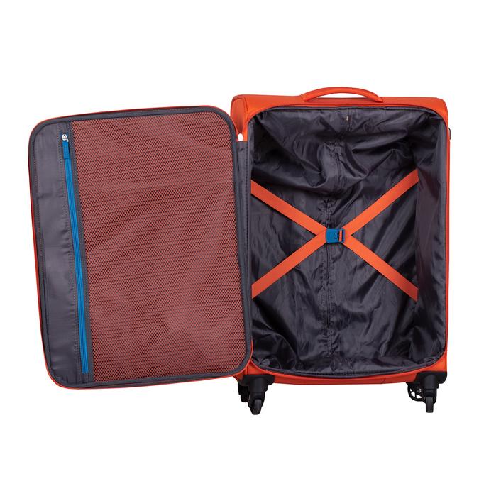 Oranžový textilní cestovní kufr american-tourister, oranžová, 969-8172 - 17