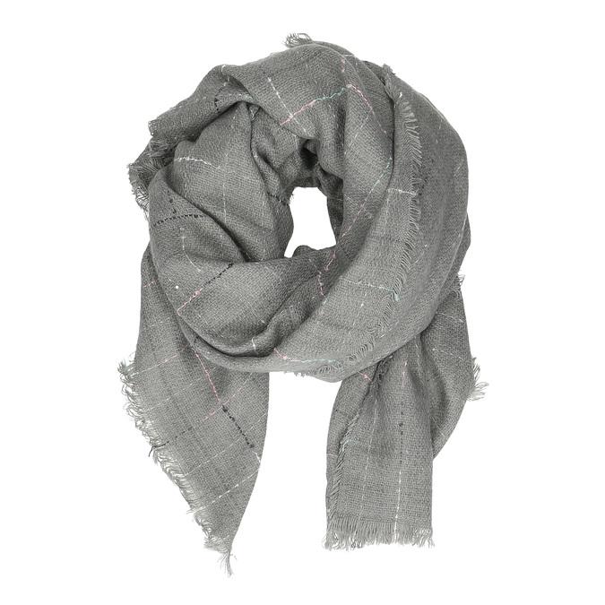 Dámský šátek s jemnou kostičkou bata, vícebarevné, 909-0715 - 16