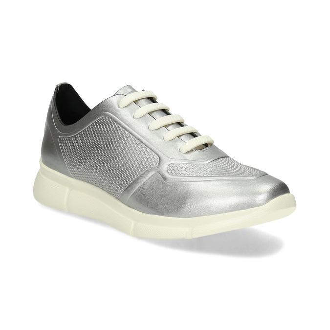 Bata B Flex Dámské stříbrné tenisky - Městský styl  2a3d4b071b