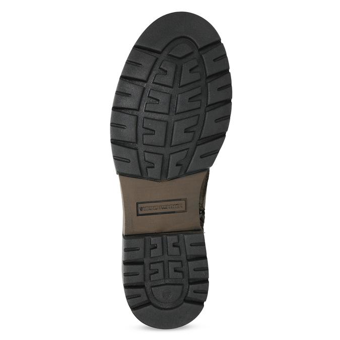 Kožená hnědá dámská obuv weinbrenner, hnědá, 596-4759 - 18