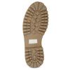 Hnědá dámská kožená zimní obuv weinbrenner, hnědá, 596-4727 - 18