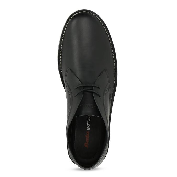 Černá pánská kotníčková obuv bata-b-flex, černá, 899-6601 - 17