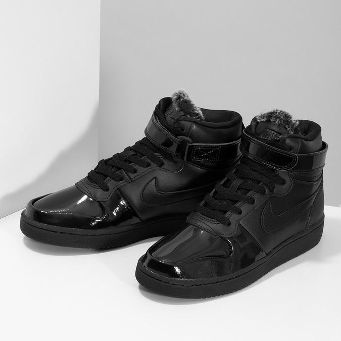 Černé dámské kotníčkové tenisky nike, černá, 501-6944 - 16