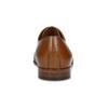 Hnědé kožené pánské polobotky proplétané conhpol, hnědá, 826-4706 - 15