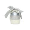 Stříbrné dívčí tenisky s mašlí mini-b, stříbrná, 321-2372 - 15