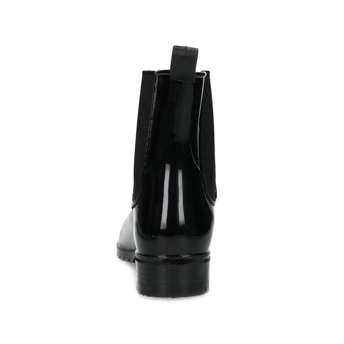Dámské černé kotníčkové holínky bata, černá, 592-6612 - 15