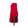 Červené dámské kotníčkové kozačky na podpatku bata-red-label, červená, 799-5646 - 15