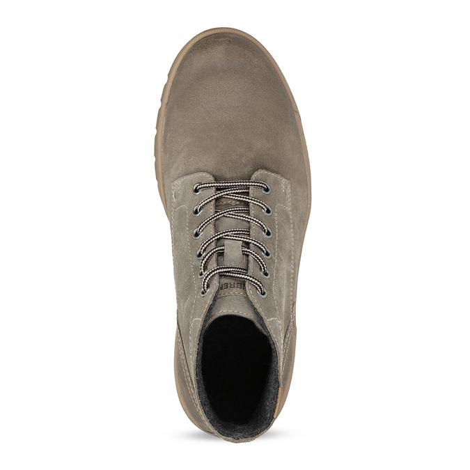 Pánská zimní obuv weinbrenner, béžová, 896-8107 - 17