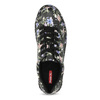 Dámské tenisky s květinovým vzorem černé bata-red-label, černá, vícebarevné, 541-6606 - 17