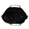 Dámská černá kabelka s kovovými uchy bata, černá, 961-6934 - 15