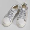 Holografické bílé tenisky dětské mini-b, bílá, 321-1371 - 16