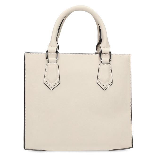 Béžová dámská kabelka s popruhem bata, béžová, 961-8951 - 26