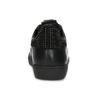 Černé dámské kožené tenisky s kamínky hogl, černá, 544-6032 - 15
