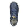Modré dětské tenisky s perforací mini-b, modrá, 411-9702 - 17