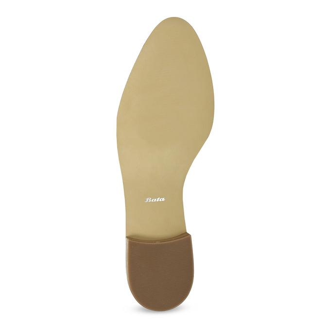 Dámské starorůžové mokasíny lakované bata, růžová, 511-5616 - 18