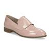 Dámské starorůžové mokasíny lakované bata, růžová, 511-5616 - 13