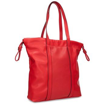 Červená kabelka ve stylu Shopper Bag bata, červená, 961-5933 - 13