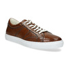 Kožené hnědé tenisky pánské bata, hnědá, 846-3649 - 13