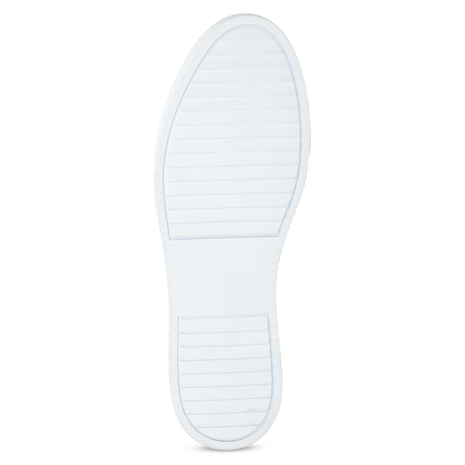 Černé kožené pánské tenisky bata, černá, 844-6649 - 18