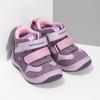 Růžové dětské kotníčkové tenisky bubble-breathe, fialová, 121-0702 - 26