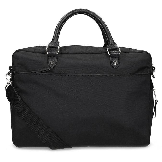 Pánská černá taška s popruhem bata, černá, 969-6950 - 16