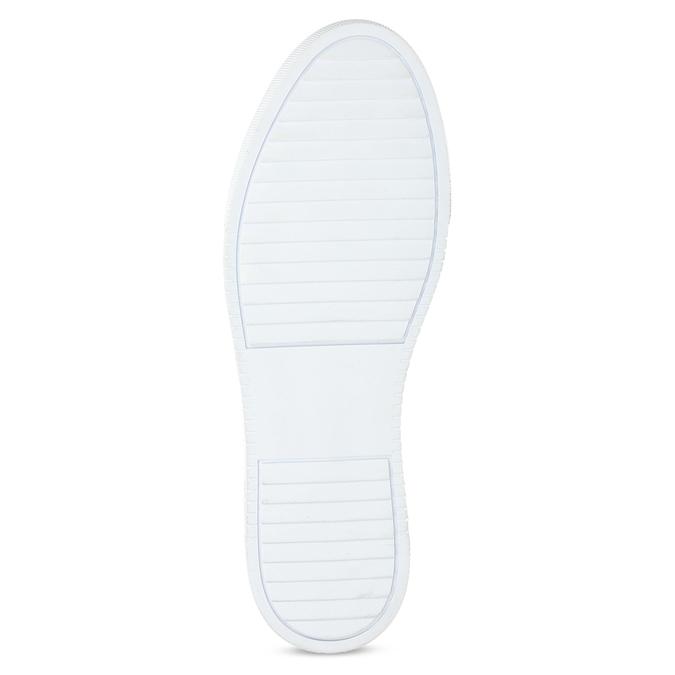 Bílé kožené pánské tenisky bata, bílá, 844-1649 - 18