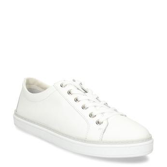 Kožené bílé dámské tenisky bata, bílá, 544-1601 - 13