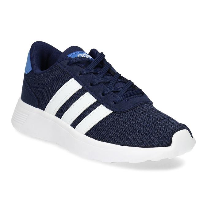 Úpletové modré tenisky chlapecké adidas, modrá, 309-9209 - 13