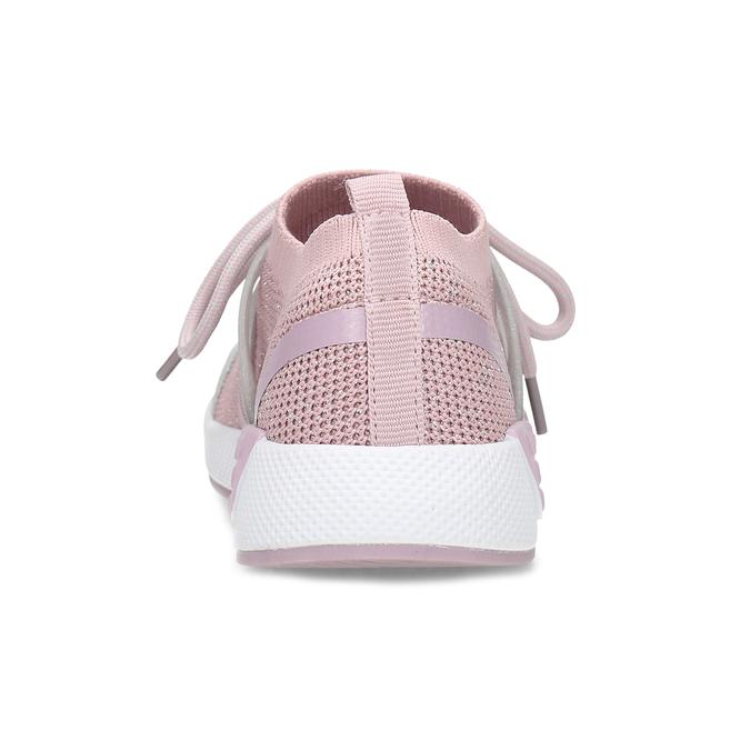 Růžové dětské tenisky v pleteném designu mini-b, růžová, 329-5282 - 15