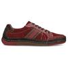 Červené pánské ležérní tenisky s prošíváním bata, červená, 846-0730 - 19