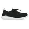 Černé dámské tenisky v pleteném stylu skechers, černá, 509-6105 - 19