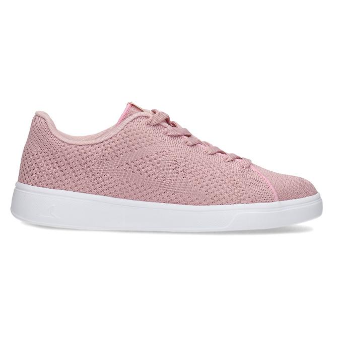 Růžové dámské ležérní tenisky power, růžová, 509-5119 - 19