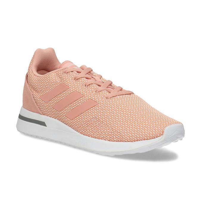 Adidas Dámské růžové tenisky s bílou podešví
