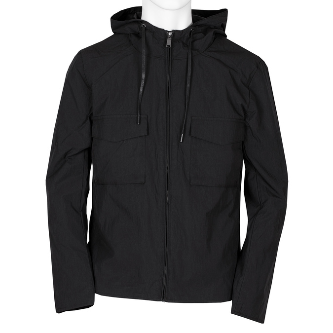 Pánská bunda černá bata, černá, 979-6341 - 13