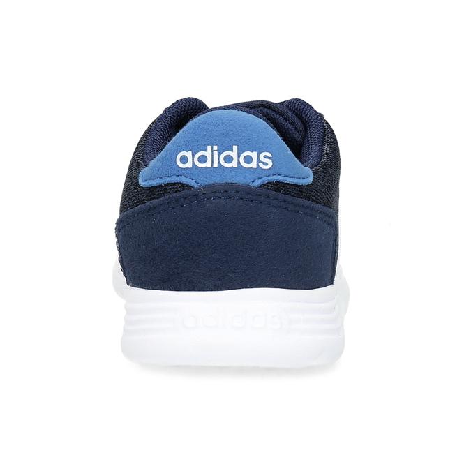Dětské úpletové tenisky modré adidas, modrá, 109-9243 - 15