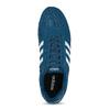 Kožené modré tenisky s červeným detailem adidas, modrá, 803-9302 - 17