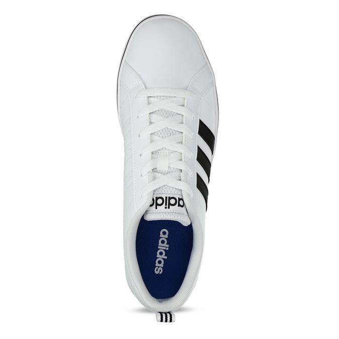 Ležérní pánské tenisky bílé adidas, bílá, 801-1136 - 17