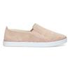 Růžové kožené slip-on tenisky bata, růžová, 533-5601 - 19