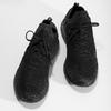 Pánské černé kotníčkové tenisky power, černá, 809-6420 - 16