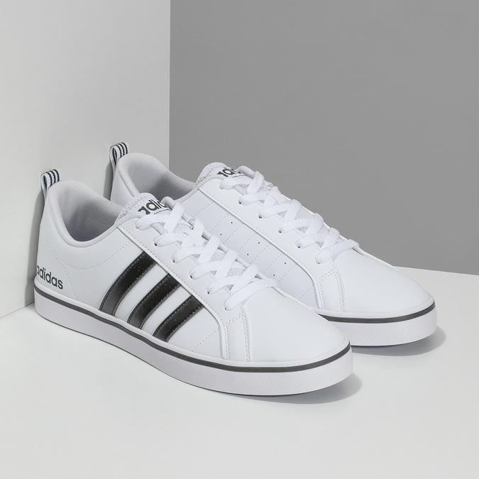 Ležérní pánské tenisky bílé adidas, bílá, 801-1136 - 26