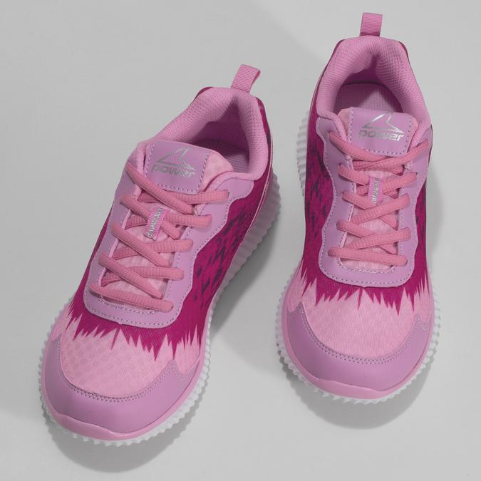 Dětské růžové sportovní tenisky power, růžová, 409-5260 - 16