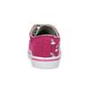 Růžové dětské tenisky s potiskem a kamínky mini-b, růžová, 229-5604 - 15