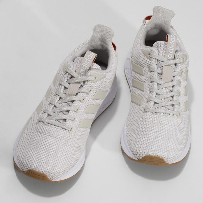 Krémové dámské tenisky s výraznou podešví adidas, béžová, 509-1129 - 16
