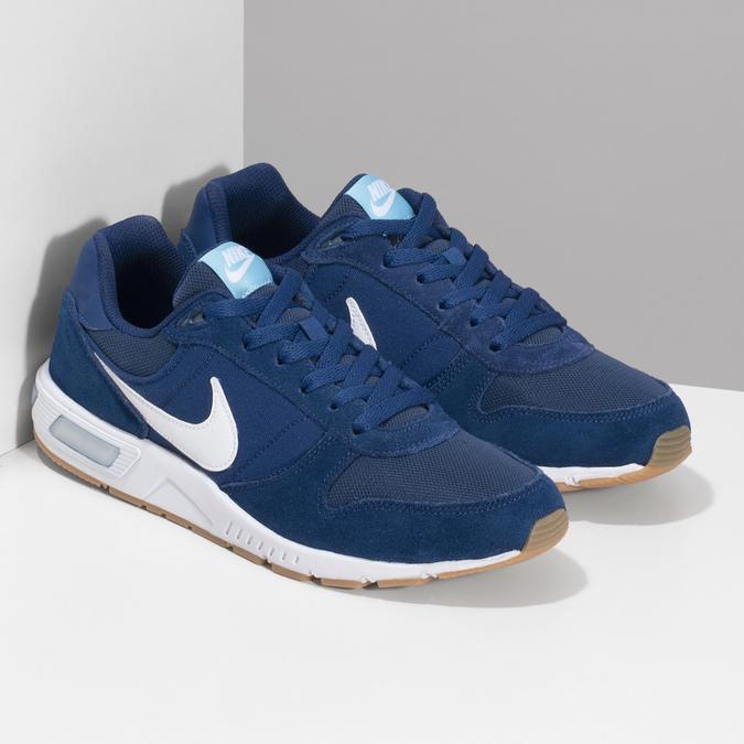 Modré pánské tenisky nike, modrá, 809-9326 - 26