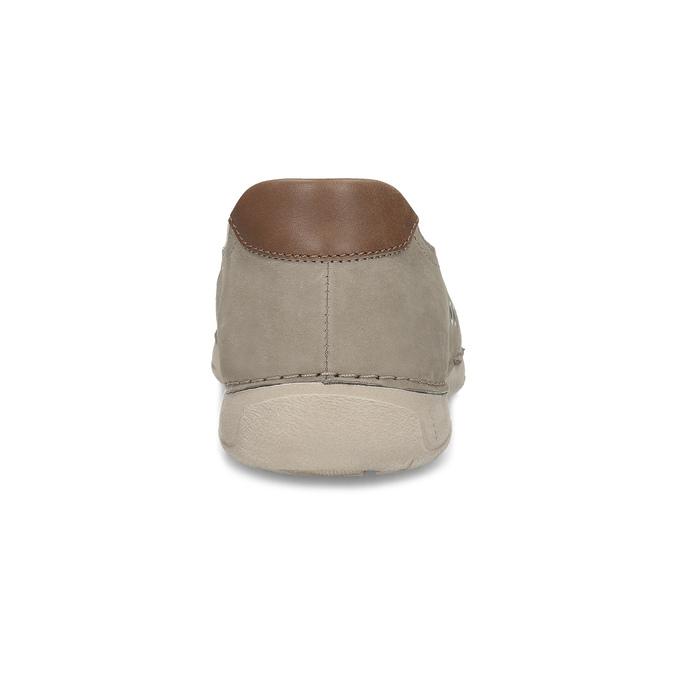 Béžové pánské slip-on boty weinbrenner, béžová, 836-8687 - 15